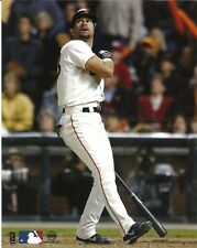 BENITO SANTIAGO 8x10 Action Photo 2002 NLCS HR SAN FRANCISCO GIANTS Puerto Rican