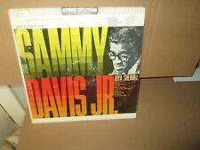SAMMY DAVIS JR. & JOYA SHERRILL - SPOTLIGHT ON rare Vinyl Lp (Spectrum 1962 VG+