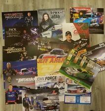 Lot Of 15 NHRA Nitro Funny Car Handouts Force Todd Hagan & More Fast Shipping