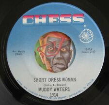 Hear Muddy Waters 45 Short Dress Woman/My John Conquer Root Ex R&B blues rocker