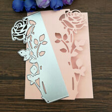 Rose Leaves border Metal Cutting Dies Stencils Die Cut for DIY Scrapbooking