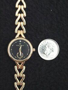 French Michel Herbelin Ladies Watch Gemmed Gold ETA Swiss 11 Jewel