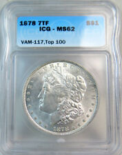 1878-1904 Morgan dollar P O S cc pcgs ngc anacs icg ms64//63 GENUINE GUARANTEE