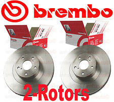 Set of 2 Genuine Brembo FRONT Rotors for  Subaru (with 293mm Diameter rotors)