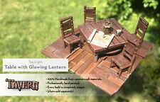 Lantern Glow Table for D&D Pathfinder 100% Handmade Terrain Tavern Miniatures