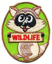 Girl Boy Cub WILDLIFE Fun Outdoor Patches Crests Badges SCOUT GUIDE animals