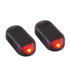 Car Safety Alarm Tool Solar Energy Led Flash Light Theft Warning Signal Lamp