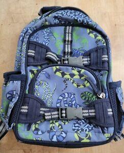 Pottery Barn Kids Mackenzie Snakes Pre-K Mini Backpack Preschool Blue Boy PBK
