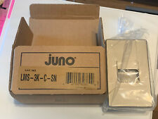 JUNO LMS-3K-C-SN Mini Indoor LED Step Light Satin Nickel NEW