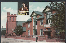 Unknown Location Postcard - The Waterton Hall & St Mary's & St Joseph's RS6330
