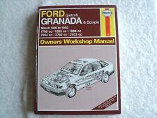FORD GRANADA & SCORPIO 1985 ~ 1993 HAYNES SERVICE & REPAIR MANUAL 1245