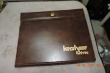 Kershaw 1320 Lock Blade Maniago Masterpieces Series 3 Knife Set W/ Case Minty