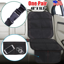 2Pack Car Seat Protector for Kids Child Carseat Cover Cushion Non-slip Safety Us