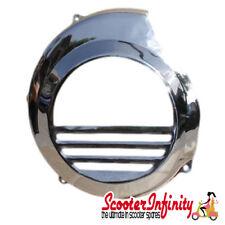 Flywheel Cowling/Cover (Chrome) Vespa P200 (Non Electric Start)