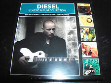 Johnny Diesel / Mark Lizotte 5 CD Set Ft The Lobbyist/Solid State Rhyme/Hear/Coa