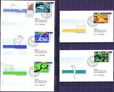 BRD 2004: Klimazonen! Wohlfahrt-FDC der Nr. 2423-2427! Berlin-Stempel! Gelaufen!