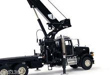"National Crane 1300H Peterbilt Truck Crane - ""BLACK"" - 1/50 - TWH #048-01036"