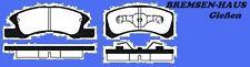 Bremsbeläge vorne Daihatsu Cuore L251  Bj 03-07 für massive Bremsscheiben