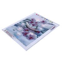 5D Orchid Stone Diamond Painting Embroidery Cross Stitch Arts Craft Kit Decor WA