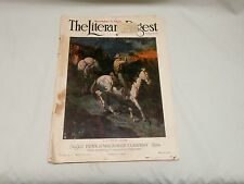 November 3, 1923 The Literary Digest Magazine Historical & Political Events/Ads