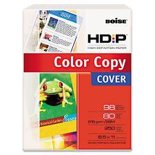 Boise POLARIS Premium Color Copy Paper 80lb 98 Bright 8-1/2 x 11 White 250