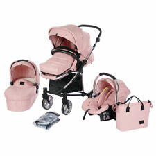 Roma Vita 2 Travel System Amy Childs Collection - Pink Pram Including Car Seat