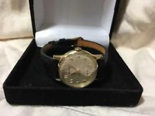 Vintage 1950's Men's Benrus wristwatch 17 jewels model DN21 new band new crystal