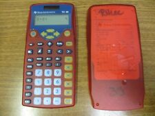 Lot of 6 Texas Instruments TI-10 Basic Calculator