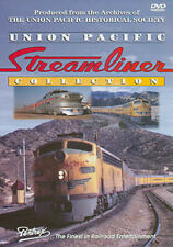 Union Pacific Streamliner Collection DVD Pentrex UP M-10000 City of Los Angeles