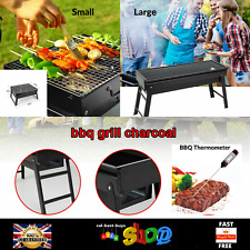Grill Charcoal Collapsible Portable Steel Picnic Barbecue BBQ Outdoor Stove Cook