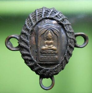 REAL RARE SHELL LP SUK THAI BUDDHA AMULET HOT PENDANT