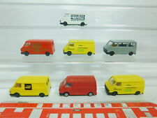 BN178-0,5# 7x Praliné H0/1:87 Lieferwagen Fiat 242: Hertz+Frama etc, s.g.