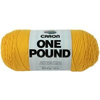 Caron One Pound Solids Yarn - (4) Medium Gauge 100% Acrylic - 16 Oz - -