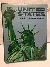 UNITED STATES LIBERY STAMP ALBUM BOOK. WITH MANY STAMPS. USED. ONE OF A KIND!!!