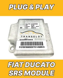 FIAT DUCATO 01375110080 PLUG & PLAY AIRBAG ECU SRS MODULE NO CODING NEEDED