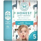 The Honest Company Gentle & Absorbent Diapers, Size 5, 20 count, 27+ pounds