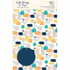 Gift Wrap & Tags - Pastel Shapes