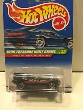 1998 Hot Wheels JAGUAR D-TYPE 8 OF 12 Treasure Hunt T-Hunt