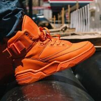 NIB Men's Patrick Ewing Athletics 33 HI Vibrant Orange 1BM00153-800