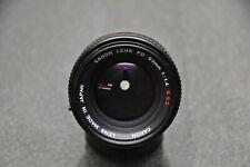 Canon FD 1,4/50mm S.S.C mit Zubehör