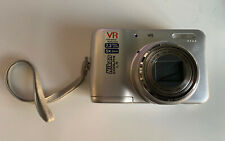 Nikon Coolpix L5 7.2 MP 5.0x Optical Zoom Lens Silver Tested & Working With Case