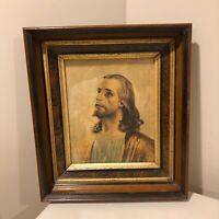 Antique Eastlake Victorian Deep Wood Gold Gilt Picture Frame 10 x 12