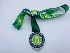 2016 Spartan World Championship (Lake Tahoe) Medal w/o Trifecta Wedge