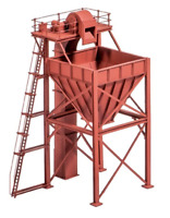 Ratio 247 N Gauge Coaling Tower Kit
