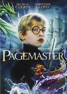 The PAGEMASTER (1994) DVD (MACAULAY CULKIN)  Region 1 New & Sealed