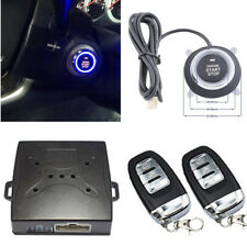 Auto Car Start Push Button Remote Keyless Entry Vibration Alarm Security System