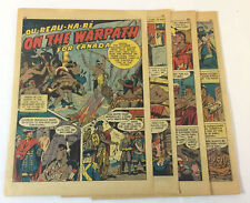 1942 seven page cartoon story~ OU-REAU-HA-RE Cayuga Chief ~ Oureauhare