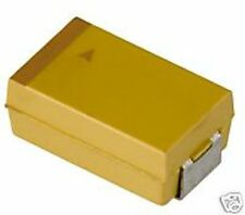 Kemet 47uF/16V Tantalum Cap, Size D, T491D476K016AS, 100pcs