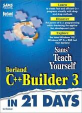 Sams Teach Yourself Borland C++ Builder 3 in 21 Days By Kent Reisdorph