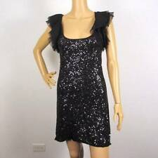 NEW BCBG MAXAZRIA SEQUIN EMBELLISHED KNIT DRESS XXS